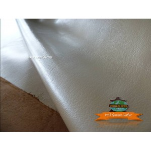 Goat Leather Ivory - Whole Skin