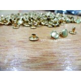 8mm Double Side Taiwan Rivet, Gold, 50 sets