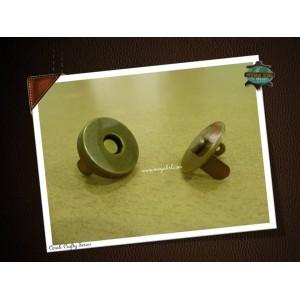 19mm Magnetic Button, Antique Bronze, 6sets
