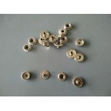 Silver Snap Buttons 13mm Type B- 10pcs
