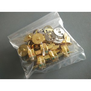 14mm Magnetic Button, Gold, 6sets