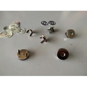 19mm Magnetic Button, Mix Black, 6sets