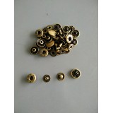 Bronze Colour Snap Buttons 13mm Type A - 10pcs