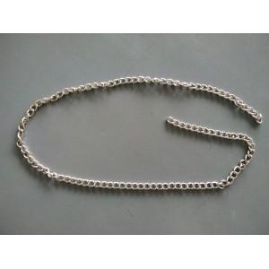 Bag Chain 8mm Silver - 2 meters