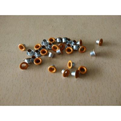 Eyelet Orange - 50pcs