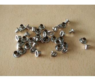 Eyelet Silver - 50pcs