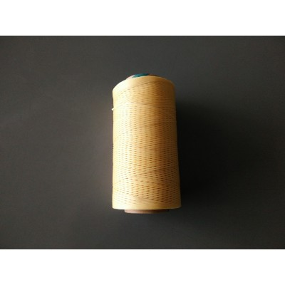 Polyester Waxed Thread - Beige