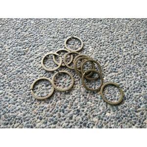 Key Ring Bronze - 10pcs