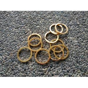 Key Ring Gold - 10pcs