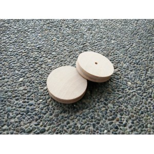 Basic Round Wooden Edge Slicker